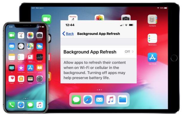 How to disable Background App Refresh on iPhone or iPad