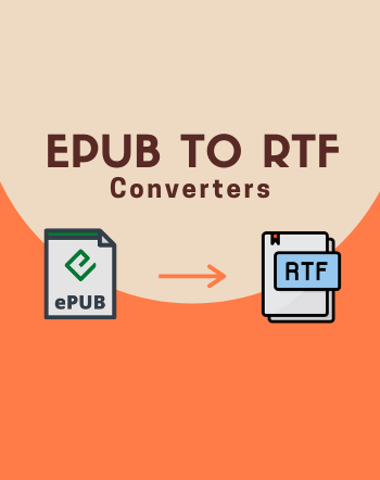 5 Best Free EPUB to RTF Converter Software for Windows